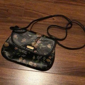 Kimchi Blue Floral Leather Handbag